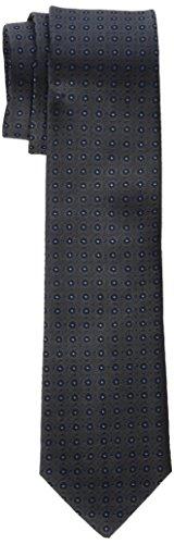 Seidensticker Herren 7 cm breit Krawatte, Grau (Dunkelgrau 37), One Size