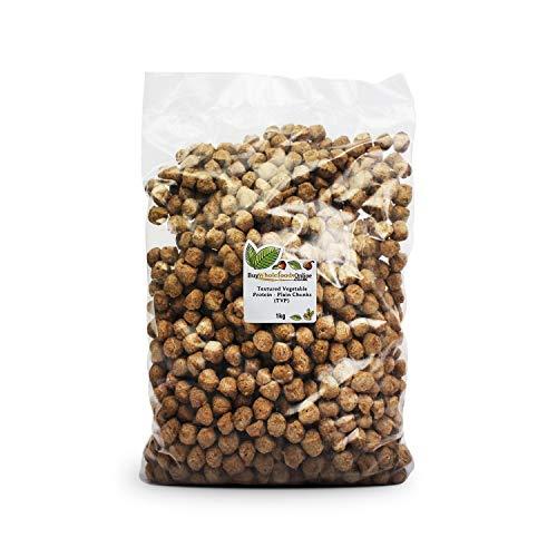 Textured Vegetable Protein - Plain Chunks (TVP) 1kg (Buy Whole Foods Online Ltd.)