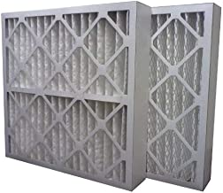 US Home Filter SC80-16X20X4 MERV 13 Pleated Air Filter (Pack of 3), 16