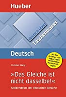 Deutsch Uben - Taschentrainer (German Edition) by Unknown.(2007-09-19)
