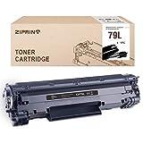 Compatible con HP CF279A 79A 79L de Ziprint para HP Laserjet Pro M12 M12A M12W M26A M26NW M26 Blcak (2500 páginas), Color Negro