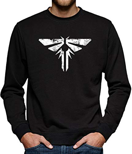 Firefly Armed Wing Sweat-shirt pour homme - Noir - Small