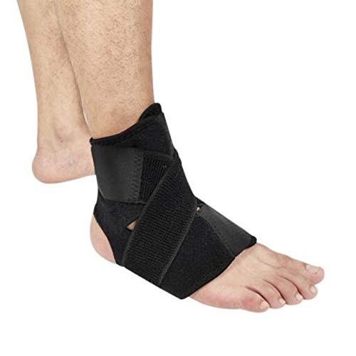 Luftschicht-Knöchelschutz, Atmungsaktiver Und Dünner Knöchelschutz, Basketball-Fußball-Schutzgurt Einheitsgröße 10 * Schwarz
