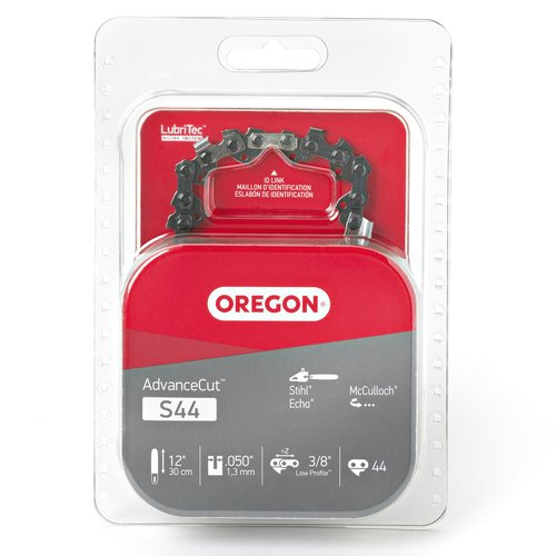 Oregon S44 AdvanceCut 12-Inch Chainsaw Chain, Fits Echo, McCulloch, Stihl