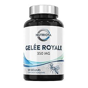 POURQUOI ACHETER DES GÉLULES DE GELÉE ROYALE 350 MG NUTRIOTA? – Chaque gélule contient 350 mg de gelée royale, un superaliment qui contribue au fonctionnement optimal du système immunitaire et améliore globalement la vitalité. Ce produit est égaleme...
