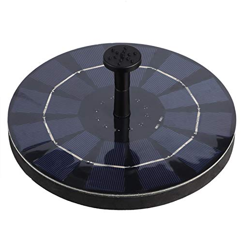 Bomba de Fuente Solar - 6V 2.5W Jardín Bomba de Fuente Solar Flotante al Aire Libre Decoración del Paisaje del jardín del hogar