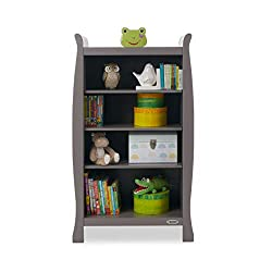 Four deep shelves for storing little ones possessions. Extra tall bottom shelf for larger items Top of unit can be used for additional storage Coordinates perfectly with the rest of the stamford range Free obaby 5 year guarantee to up & ireland