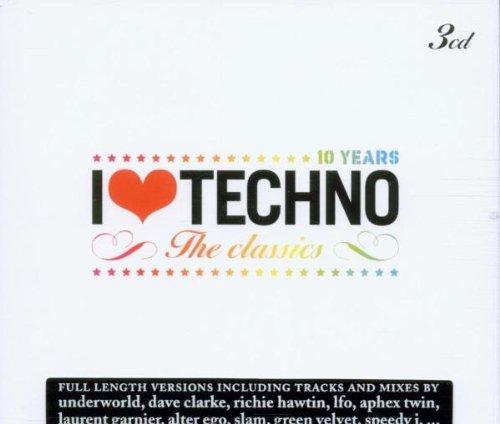 I Love Techno-the Classics/10 Year I Love Techno