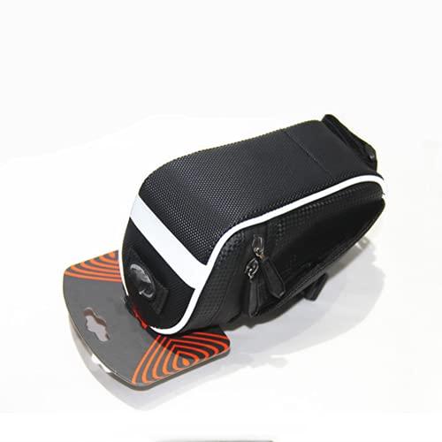 N / B Hartschalen-Fahrrad-Endsäcke, schnelle Montage Demontage, Mehrwinkel einstellbar, mit reflektierenden Streifen, wasserdicht und verschleißfest, schwarz