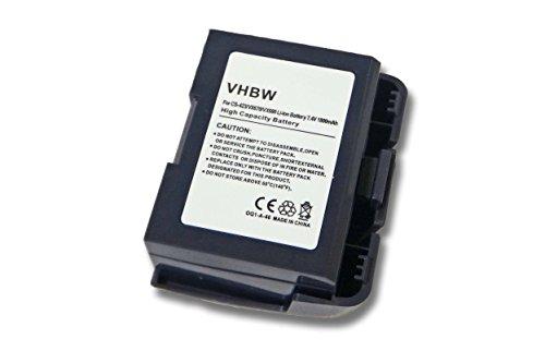 vhbw Batterie 1800mAh (7.4V) pour Verifone VX680, VX680 Wireless Credit Card Machine, VX680 Wireless Terminal, Verifone VX680 et BPK268-001-01-A.