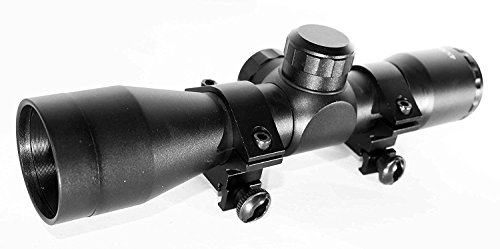 TRINITY 4x32 Rifle Shotgun Scope Mild Dot Reticle Optics Hunting