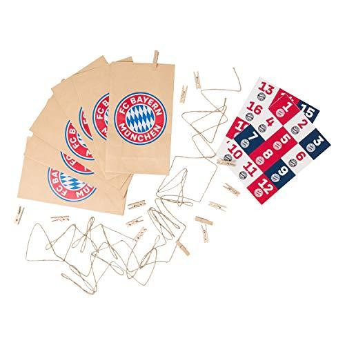 Bayern München Adventskalender knutselset, kerstkalender FCB - Plus bladwijzer I Love München