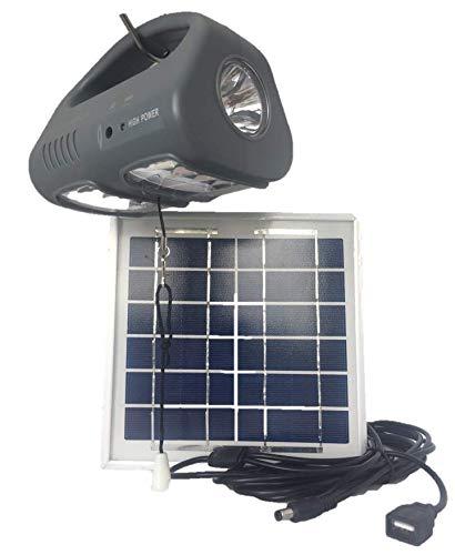 Villageboom High Power Plus Solar verlichting voor dagelijks en vrije tijd nostal-oplader voor mobiele telefoon groot zonnepaneel zeer helder