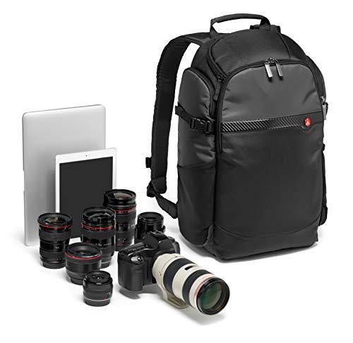 Manfrotto MB MA-BP-BFR Advanced Befree Kamerarucksack (geeignet für 15-Zoll-Laptop, rückseitiger Zugang, elastische Seitentasche für Reisestativ, für DSLR/spiegellose/CSC/Drohne und Standardobjektive)