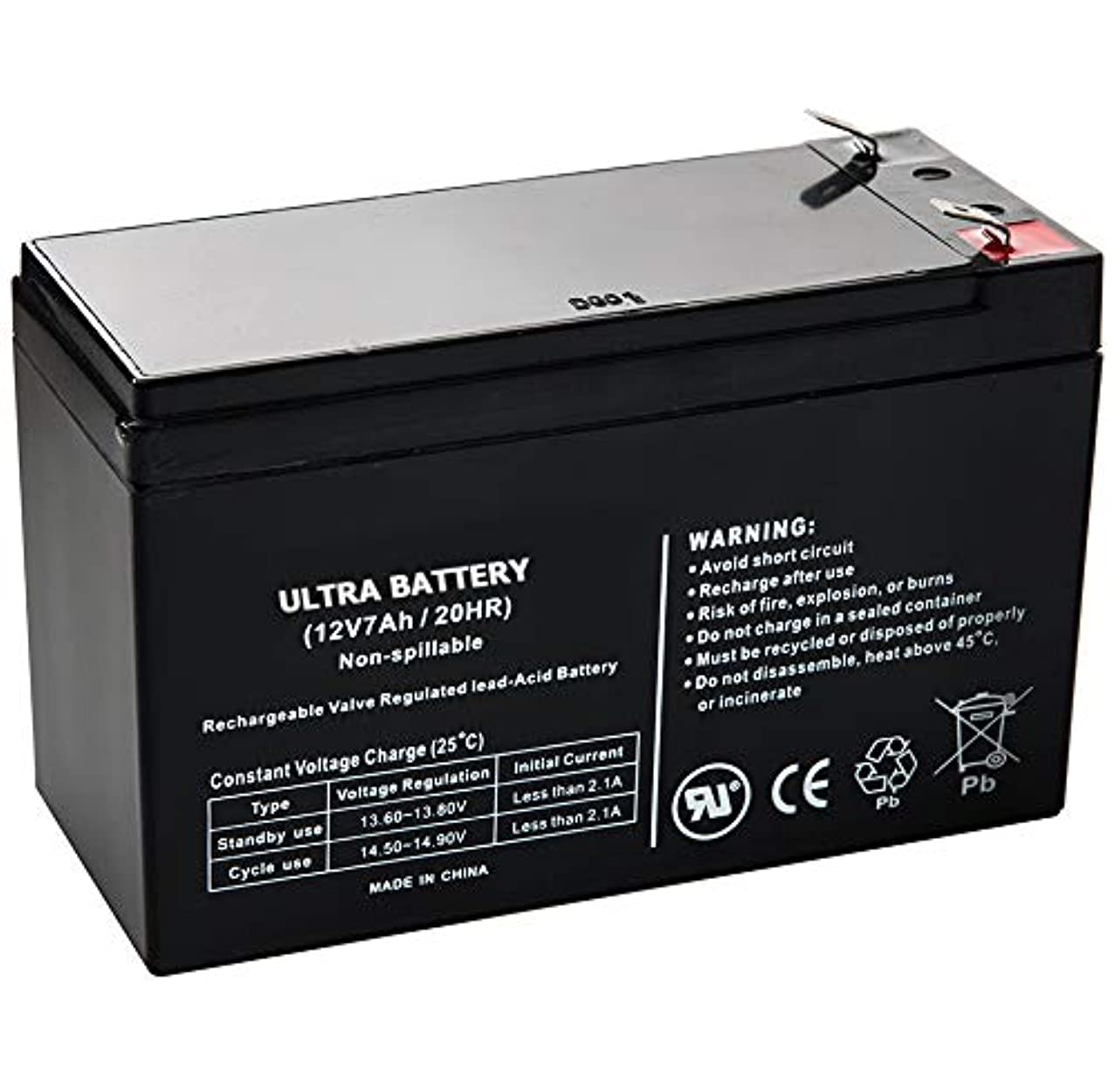 APC BackUPS CS500 12V 7Ah UPS Battery - This is an Ultra Power Replacement