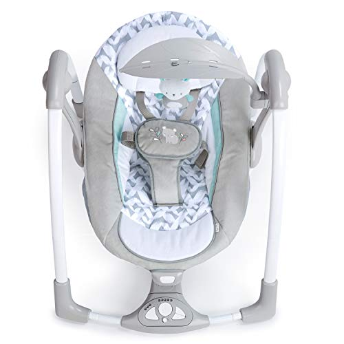 41co5tZOzvL The Best Fully Reclined Baby Swings for 2021 Review