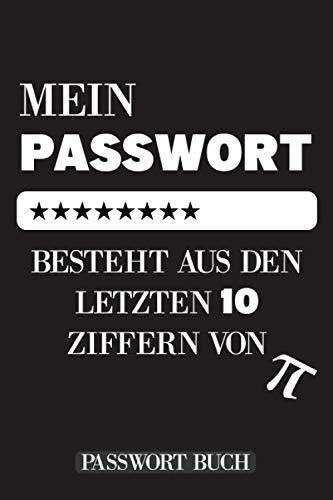 Passwort Buch: Mit Alphabetischem Register