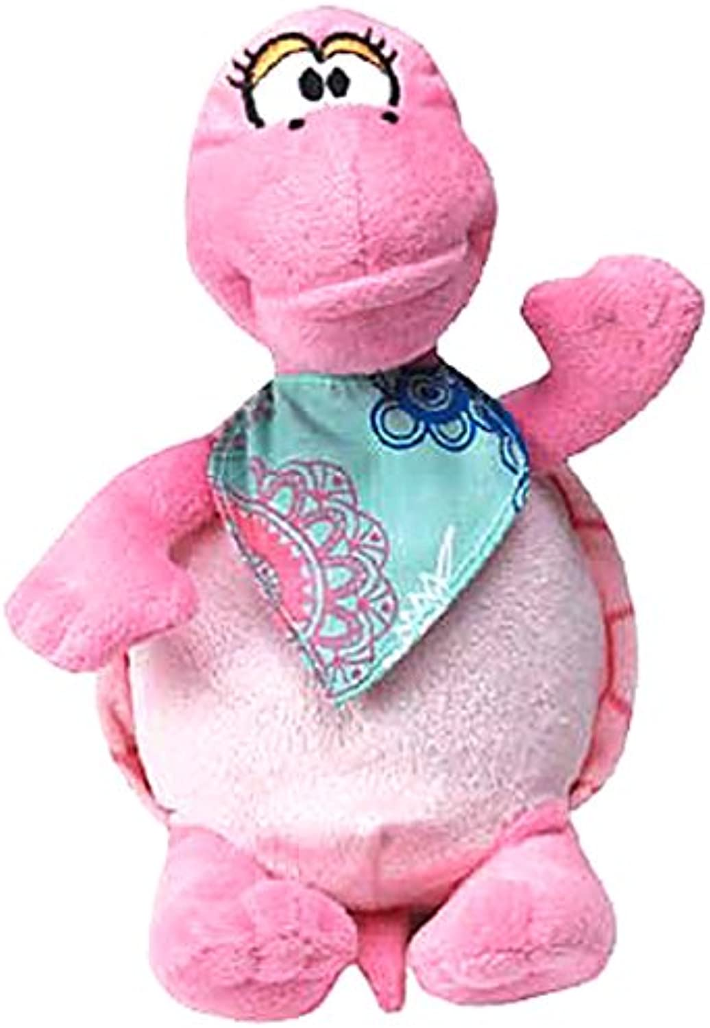 Grriggles Fresh Water Turtle Dog Toy, Pink