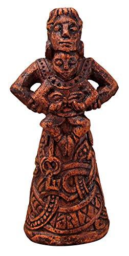 Dryad Design Nordische Göttin des Herdes Frigga Figur – Holz-Finish