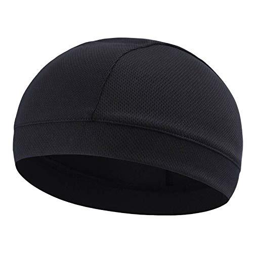 ROSOY 1 Stück Feuchtigkeitstransport Kühlende Schädelkappe Inner Liner Helm Beanie Dome Cap Schweißband
