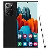 LVHC Note20U+ Smartphone 4G - 6,5 Pollici Android 9.1 4 GB RAM + 32 GB Rom, 128 GB Memoria espandibile, 4800 mAh Batteria 13 MP + 32 MP Doppia Fotocamera Dual SIM Telefono Cellulare,Nero