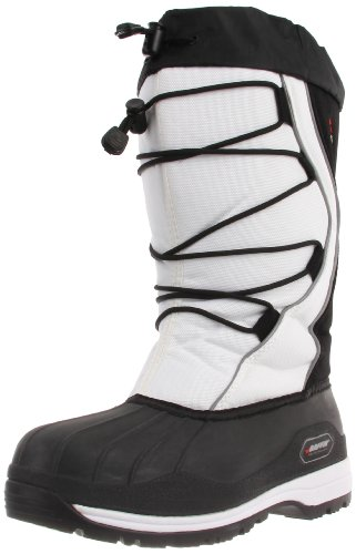Baffin Women's Icefield Insulated Snow Boot,White,8 M US
