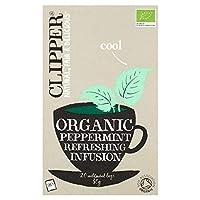 [Clipper ] パックあたりの有機ペパーミントティーバッグの点滴20のクリッパー - Clipper Organic Peppermint Tea Bags Infusion 20 per pack [並行輸入品]