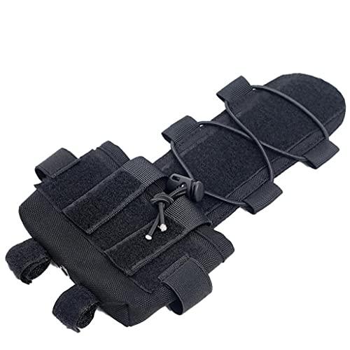 Tactical Helmet Batteria Pouch Bag Accessori Contrappeso Softair Casco Peso Di Equilibratura Borsa Del Casco Universale Per Airsoft Outdoor Paintball Nero