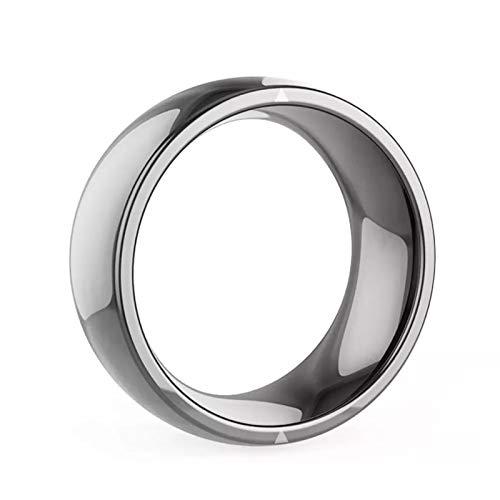 Smart Ring, NFC Phone Smart Accessori Anello Dita Magico, Adatto per Windows Android iOS (Size : 11)