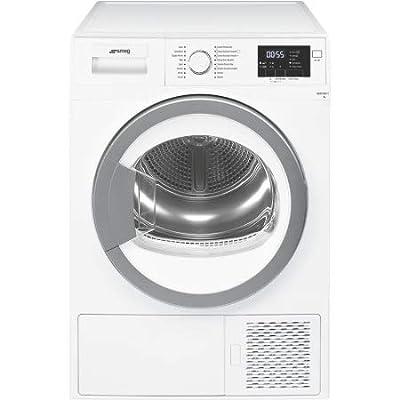 Smeg dht71eit-1Freestanding Front-Load 7kg A + Silver, White–Tumble Dryer (Freestanding, Front Loading, Heat Pump, a +, Silver, White, B)