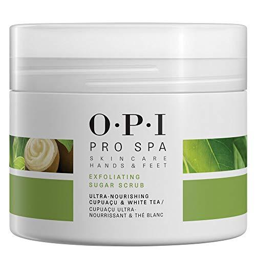 OPI Pro Spa - Crema Exfoliante de Azúcar para Pies Secos y Ásperos - 249 gr