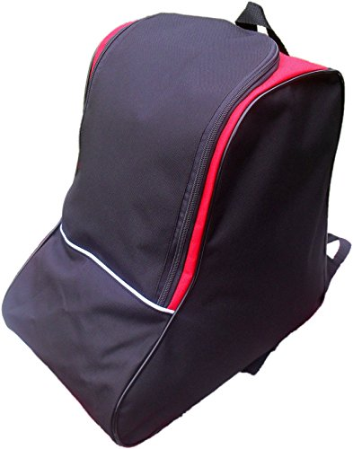 Witan SKISCHUHTASCHE Snowboard Schuhe Tasche Bootsbag (Rot)