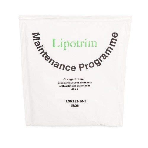 Lipotrim Orange Creme Diet Drink Mix (21)
