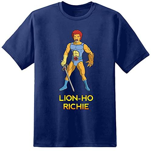 Men's Funny Lion-Ho Richie 80s Thundercats T-shirt, S to 3XL