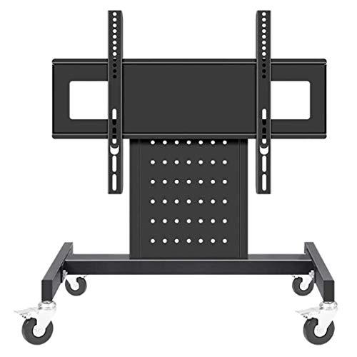 Soporte para TV, soporte móvil para TV de 32-65 pulgadas, soporte para tribuna inclinable universal, soporte para TV para sala de conferencias en escenario, carrito móvil montado en el piso, soporte