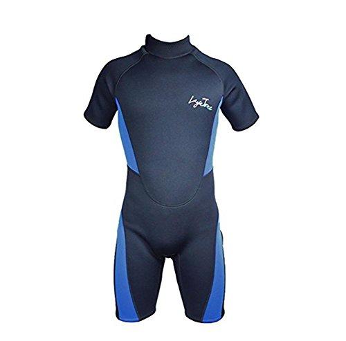 pengweiLayatone Hombres traje de neopreno 3mm traje de neopreno grueso corto para snorkeling, buceo y surf para hombres , L