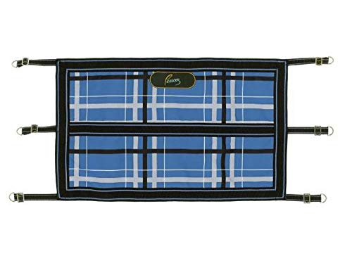 Pessoa Alpine 1200D Stall Guard (34.5Lx21W, Blueberry/Clay Plaid)