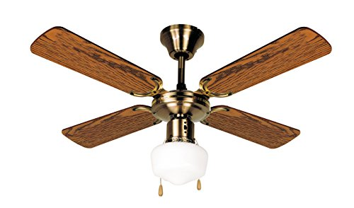 Orbegozo CL 02105 M Ventilador de techo con luz, 50 W de potencia, diámetro de 105 cm, 4 palas reversibles y 3 velocidades
