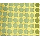 Onsinic 14 Blätter Removable Farbcodierschilder Runder Punkt-Aufkleber Für Handwerk Notizen Marks Playing Games Zufällige Farbe