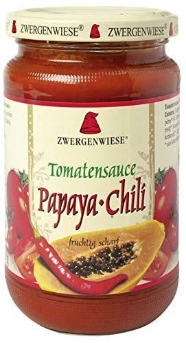 Zwergenwiese Bio Tomatensauce Papaya-Chili (6 x 340 ml)