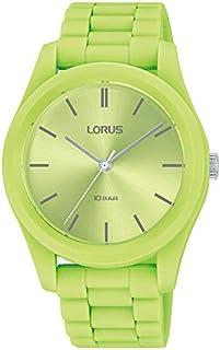 Lorus Women's Analogue Quartz Watch with Silicone Strap RG265RX9