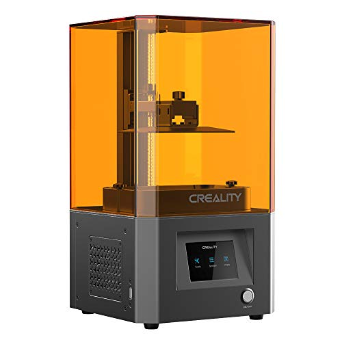 Creality LD002R UV Photocuring LCD 3D Printer with Air Filtering System and 3.5'' Smart Touch Color Screen Off-line Print 4.69'(L) x 2.56'(W) x 6.29'(H) Printing Size