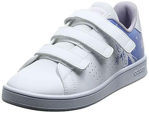 adidas Advantage C, Zapatillas de Tenis, FTWBLA/FTWBLA/PURTIZ, 33 EU