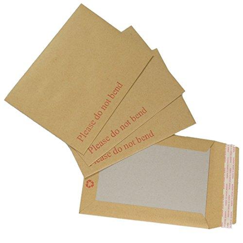 Triplast, 162 x 229 mm, formato C5, in carta Manilla, formato A5, rigida, con buste, confezione da 20 pezzi