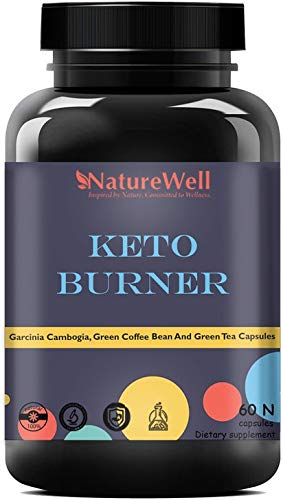 Naturewell Keto Capsules, Fat Loss, Fat Burner For Men & Women, Fat Burner (60N DB)