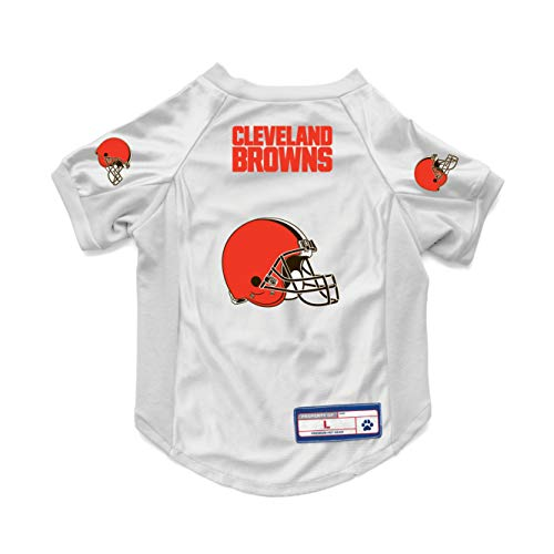 Littlearth NFL Cleveland Browns Pet Stretch Jersey, X-Small