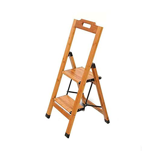 XiuHUa Stap kruk-Ladder Thuis Massief Hout Klimmen Ladder Multifunctionele Verdikking Vloer Vouwladder Stap kruk