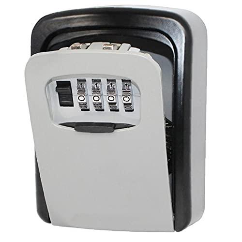 Accesorios de mobiliario llave de la caja caja de la cerradura tiempo al aire libre de 4 dígitos de aleación de zinc de combinación Caja de almacenamiento