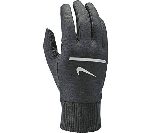 Nike Men's Heathered Sphere Running Gloves (Grey, X-Large)