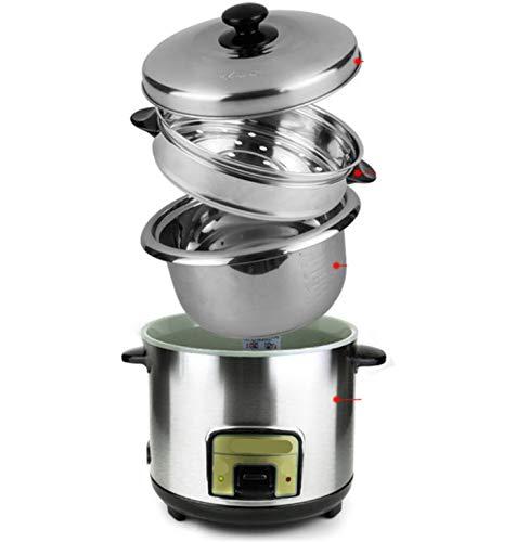 Gemakkelijk te reinigen rijstkoker binnenvaas 3L 4L 5L 6L warmhoudfunctie met aanraakgevoelige aluminium inhoud kookpan 4l